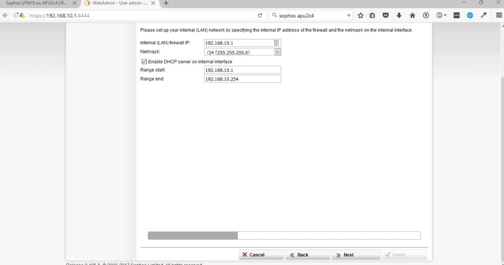 Sophos UTM Basic Setup - Netzwerk