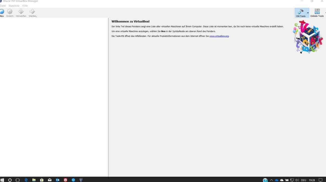 VirtualBox installieren Teil 10