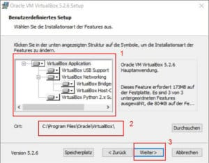 VirtualBox installieren Teil 4