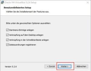 VirtualBox installieren Teil 5