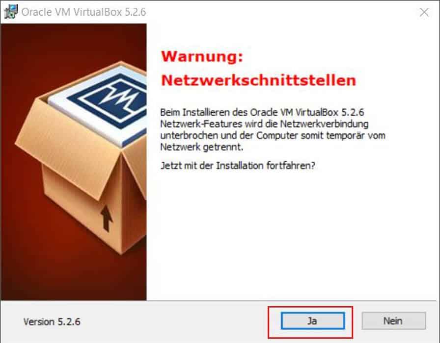 VirtualBox installieren Teil 6
