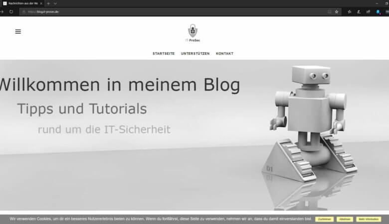 IT ProSec Blog Forum
