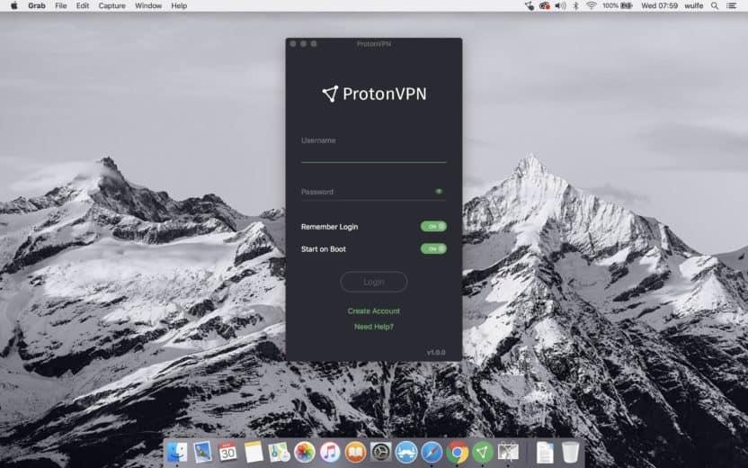 ProtonVPN Login