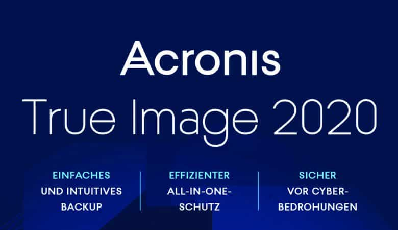 Acronis True Image 2020 Test
