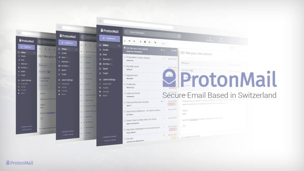 ProtonMail Test 2019