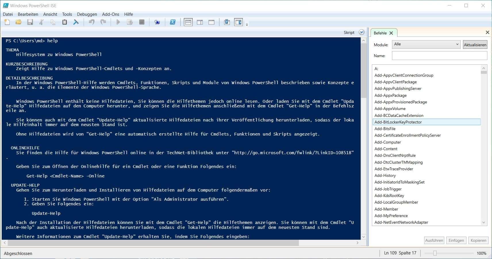 Windows PowerShell Teil 1 – Unterschied zu klassischen CMD