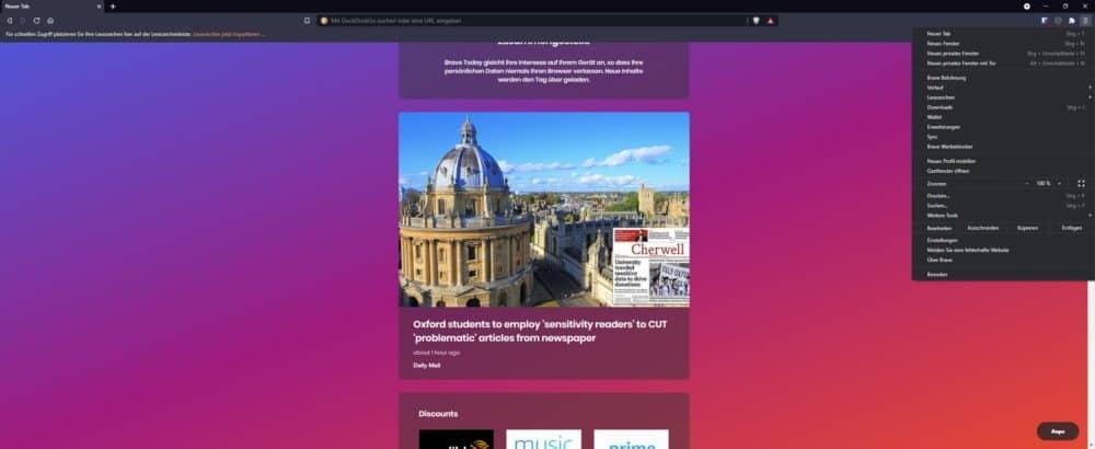 Sicherer Browser 2021 | Brave der datenschutzkonforme Browser 2