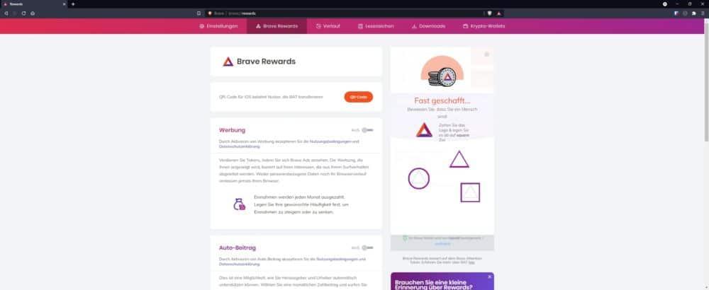 Sicherer Browser 2021 | Brave der datenschutzkonforme Browser 4